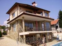 Furnished sea view villa in Balchik front