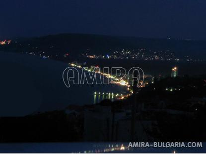 Sea view villa in Balchik night
