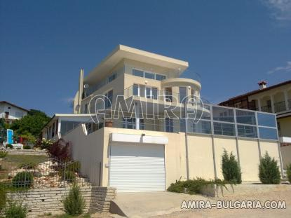 Luxury first line villa in Balchik with magnificent sea view front 2