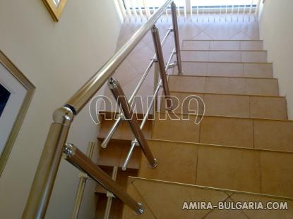 Luxury first line villa in Balchik with magnificent sea view staircase