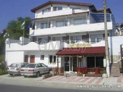 Family hotel in Balchik Bulgaria front