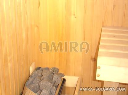 Furnished house near the beach sauna