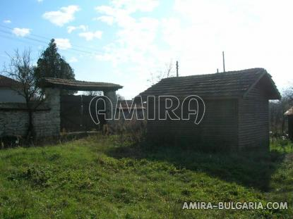 House in authentic Bulgarian style garden