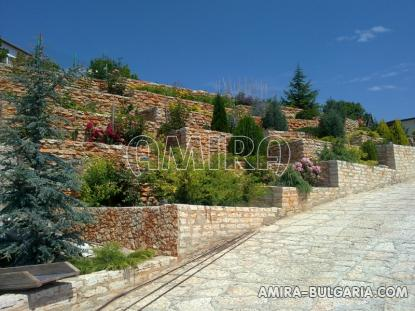 Luxury first line villa in Balchik with magnificent sea view garden 3