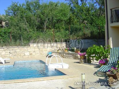 Furnished sea view villa 300m from the beach pool 3